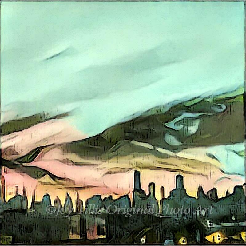 Sky In Turquoise by Joy Tillis