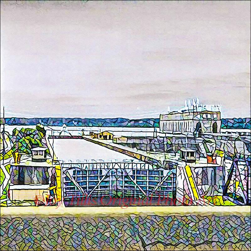 Lock Dam 19