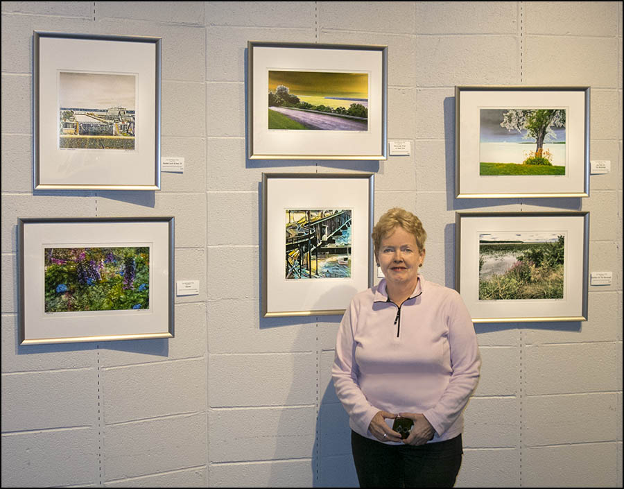 Joy Tillis At Gallery Exhibit